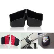AutoStark Car Pillar Storage Pockets Set Of 2 - Black