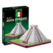 Cubic Fun 19pcs 3D Puzzle Maya Pyramid World's Great Architecture