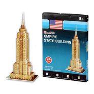 Cubic fun 24pcs 3D Puzzle Empire State Building Model World's Great Architecture