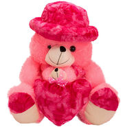 Kaku Loveable Teddy withCap & Loveble Heart_DKK-21 A