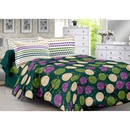 Valtellina 100% Cotton Double Bedsheet with 2 Pillow Cover-214-B