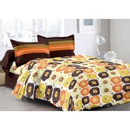 Valtellina 100% Cotton Double Bedsheet with 2 Pillow Cover-6009-B