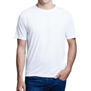 Oh Fish Plain Round Neck Tshirt_Df1wht - White