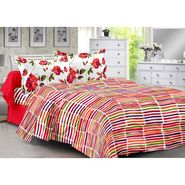 Valtellina 100% Cotton Double Bedsheet with 2 Pillow Cover-3006-E