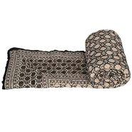 Jaipuri Print Cotton Single Bed Razai Quilt-DLI4SRZ106