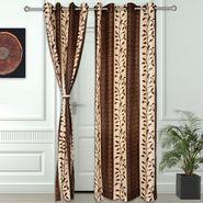Story @ Home Coffee 2 pc Door curtain-7 feet-DNR3016