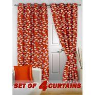 Set of 4 Printed Door curtain-7 feet-DNR_2_2019