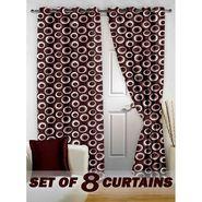 Set of 8 Printed Door curtain-7 feet-DNR_4_2021