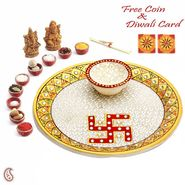 Pure silver Ashta Vinayak Darshan