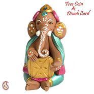 Antique Finish Pooja Thali