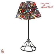 Aapno Rajasthan Square Lamp Shade Design Tea Light Holder