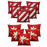 Dekor World Floral Bonanza Cushion Cover(Pack of 10 Pcs)-DWCB-144