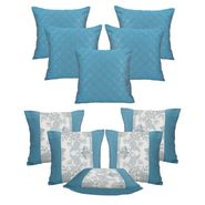 Dekor World Set of 10 Designer Printed Cushion Cover-DWCB-180