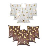 Dekor World Set of 10 Designer Printed Cushion Cover-DWCB-192