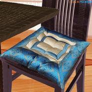 Dekor World Zari Border Chair Pad-DWCP-025