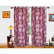 Dekor World Galaxy Mix Window Curtain-Pack of 2 -DWCT-708-5