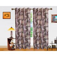 Dekor World Galaxy Mix Window Curtain-Pack of 2 -DWCT-709-5