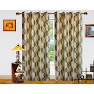 Dekor World Altra Lahar Window Curtain-Set of 2 -DWCT-765-5
