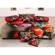 Set of 8 Dekor World Velvet Digital Printed Diwan Cover Set-DWDS-0128