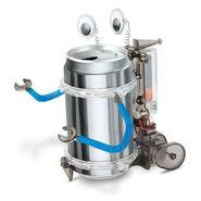 Educational Tin Can Bottle Solar Power Energy Robot Toy Kit