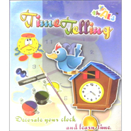 New Time Telling - Decorate your Clock and Learn Time