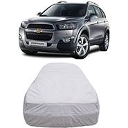 Digitru Car Body Cover for Chevrolet Captiva - Silver