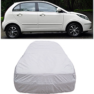 Digitru Car Body Cover for Tata Indica Vista - Silver