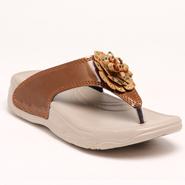Do Bhai PU Sandals - Brown-5618