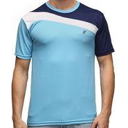 Effit Half Sleeves Round Neck Tshirt_Etsprnturnv - Sky Blue