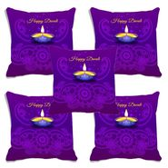 Set of 5 meSleep Digitally Printed Cushion Cover-CD-011