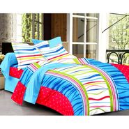Ahem Homes Cotton  Double Bedsheet  With 2 Pillow Cover-EX1201