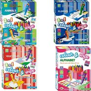 Ekta Colour & Wipe PreSchool Play And Learn Combo 4pcs