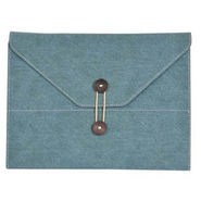 Envent Cowboy Premium Denim Cover for iPad 2/ New iPad - Blue