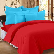 Storyathome 100% Cotton Double Bedsheet With 2 Pillow Cover-FS1210