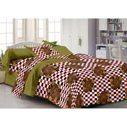 Storyathome 100% Cotton Single Bedsheet with 1 Pillow Cover-FY1120