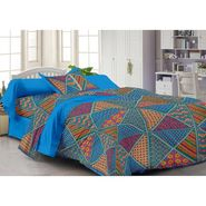 Storyathome 100% Cotton Single Bedsheet with 1 Pillow Cover-FY1124