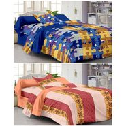 Set of 2 Single Bedsheet with 2 Pillow Cover-1216-1220