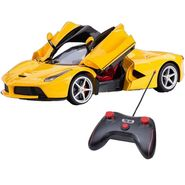Full Function RC Racing Ferrari Car Toy-Yellow