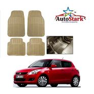 AutoStark - Premium Quality Beige Rubber Car Foot Mat For - Maruti Suzuki Swift New