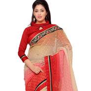 Indian Women Georgette Printed Saree -GA20124