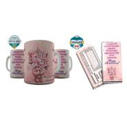 Shaildha Birthday Special 350 Ml Coffee Mug With Chocolate Bar - 12391178