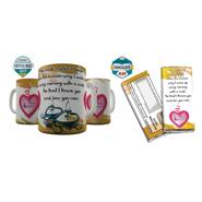 Shaildha Birthday Special 350 Ml Coffee Mug With Chocolate Bar - 12391180