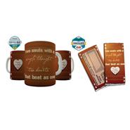 Shaildha Birthday Special 350 Ml Coffee Mug With Chocolate Bar - 12391182