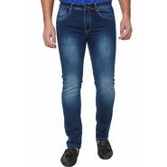 Branded Slim Fit Cotton Jeans For Men_Hbd - Blue