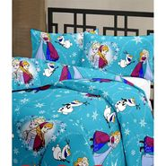eCraftIndia Designer Printed Kids Single Bed Reversible AC Blanket-HFBD149