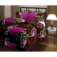 eCraftIndia Designer Printed Single Bed Reversible AC Blanket-HFBD174