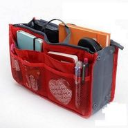 Branded Nylon Travel Organizer Ho_Red
