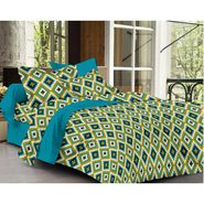 Ahem Homes Cotton Single Bedsheet with 1 Pillow Cover-HZ1208