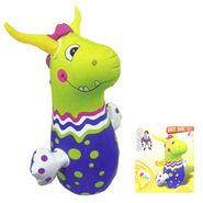 Hit-Me RhinocerosFace Bop Bag for Kids