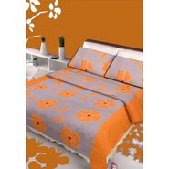 IWS Designer Cotton Printed Double Bedsheet with 2 Pillow cover- IWS-CB-81